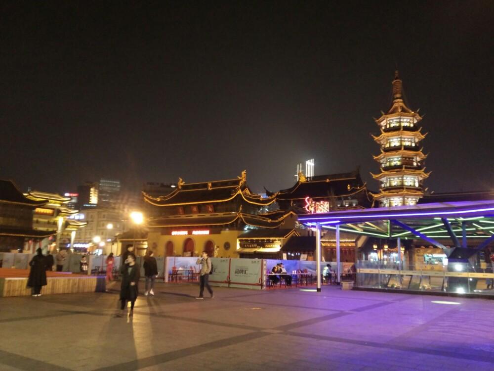 宜阳灵山风景区夜景