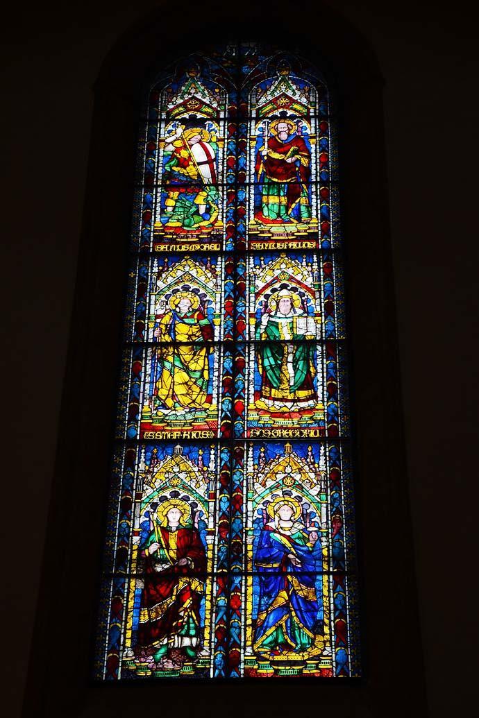 教堂美丽的窗花