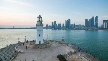 青岛 奥帆中心灯塔