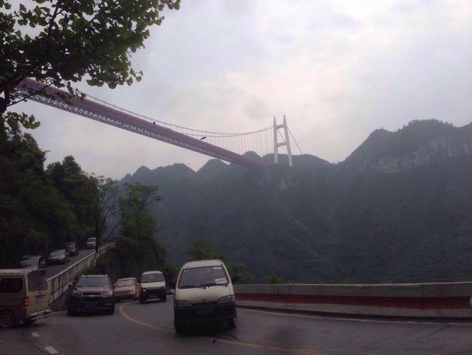 边城,德夯苗寨,乾州古城及矮寨大桥风景区游